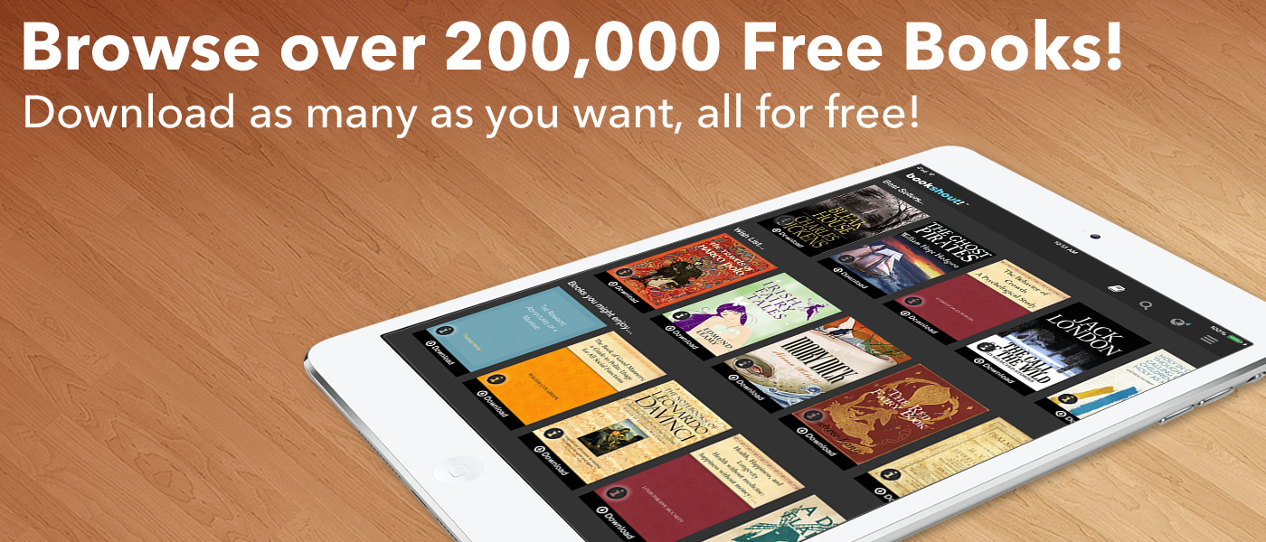 Free books banner