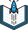 Distributed books icon
